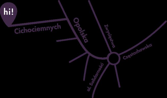 Mapa HI